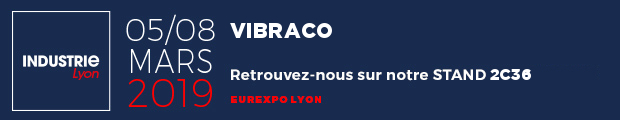 Vibraco sur le salon Industrie 2019